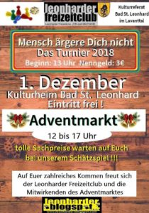 Adventmarkt Bad St. Leonhard